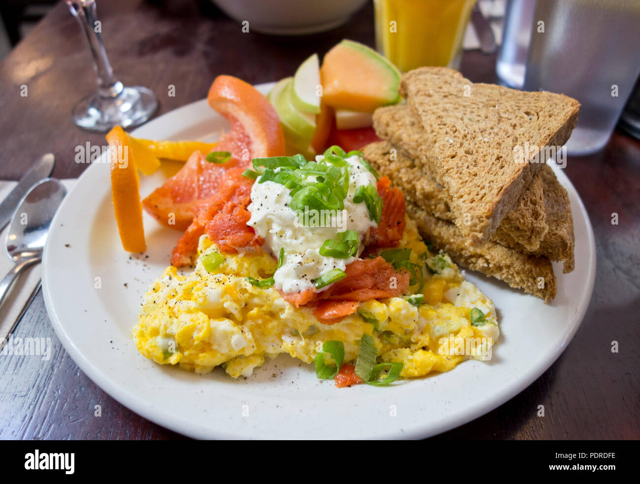 delicious-breakfast-with-scrambled-eggs-
