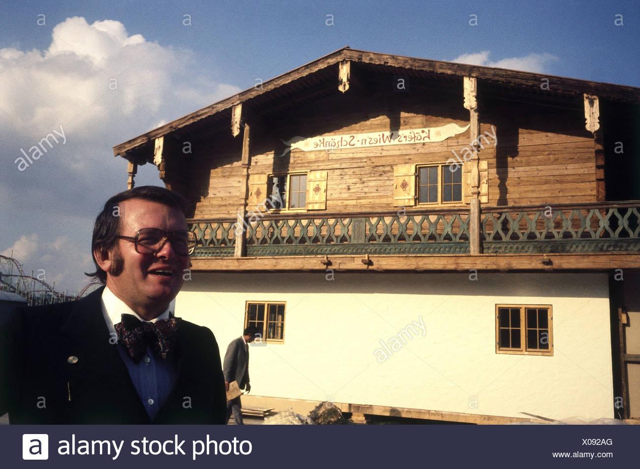 Käfer, Gerd, * 19.10.1932, deutscher Gastronom, Porträt, vor\