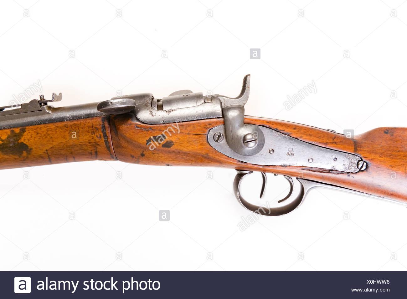 Werndl Jäger Gewehr 1867 Stockfoto Bild 275759378 Alamy