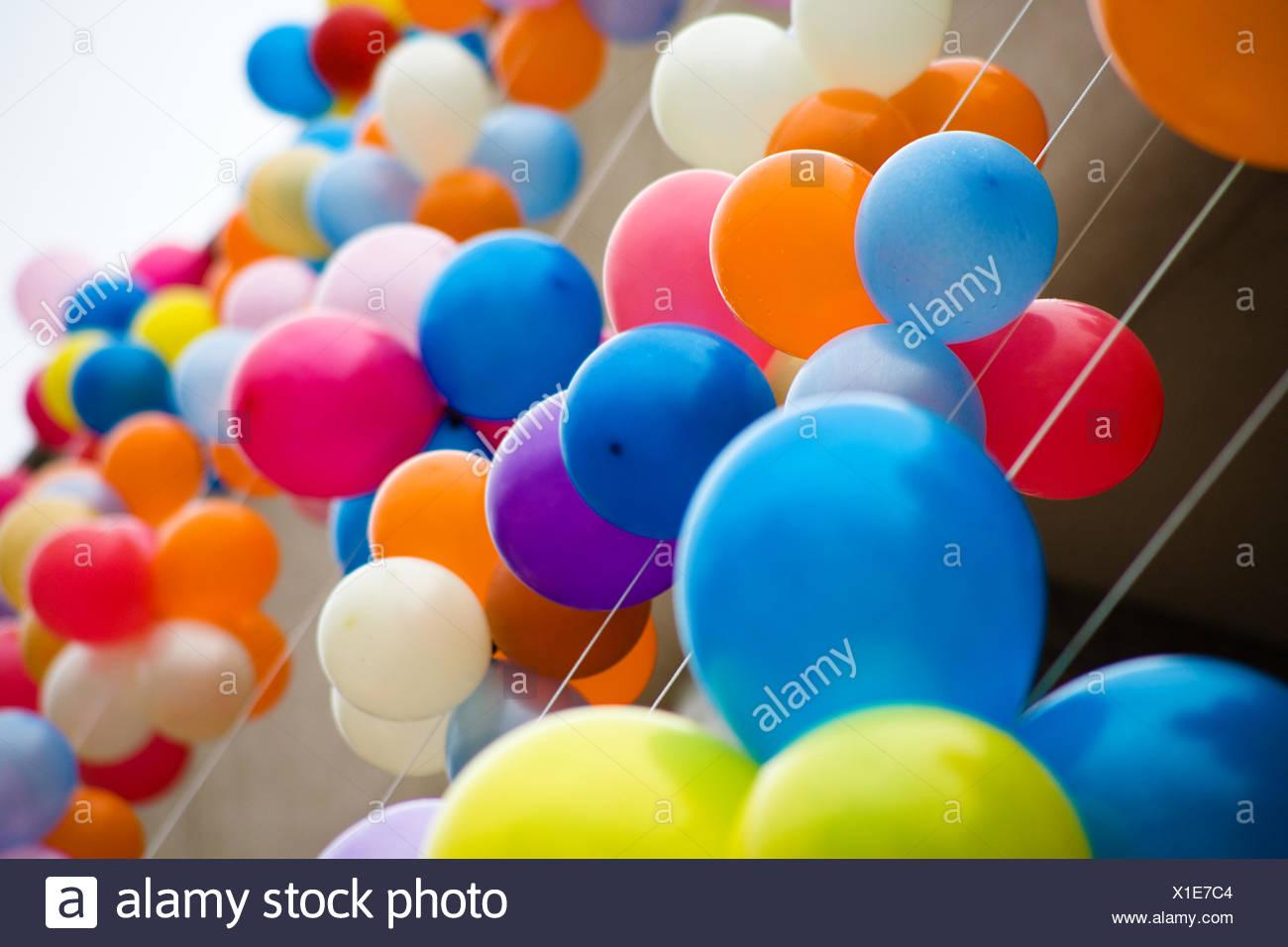 Ausgezeichnet Geburtstag Ballon Färbung Seite Galerie - Framing ...