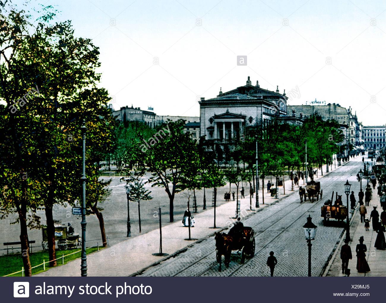 Wilhelmsplatz Und Theater Posen Stockfoto Bild 276808957 Alamy