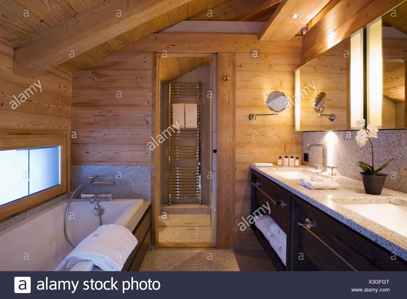 Soffitti In Legno Moderni : Nobile led soffitto legno lampada rustico moderno noce con