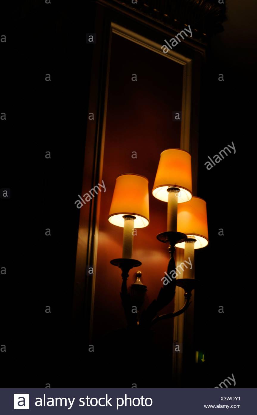 Theater Lampen Munchen Bayern Deutschland Stockfoto Bild