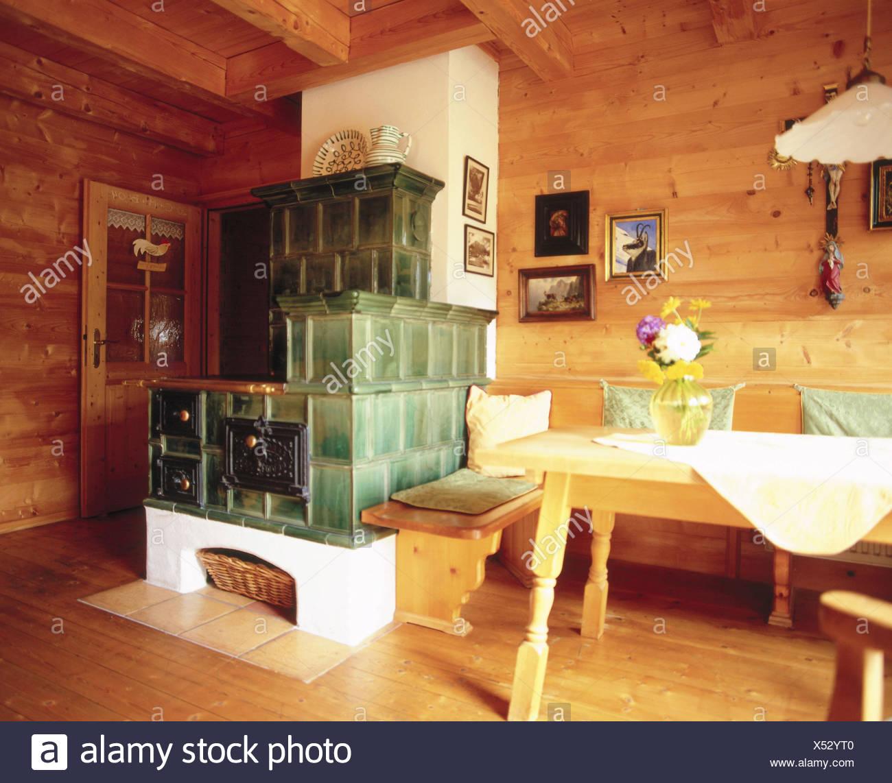 Increíble Mesa De La Cocina Estilo Granja Irlanda Inspiración ...