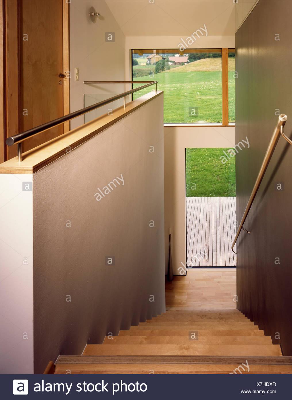 Wohnhaus Eberle, Treppen steigen, Wohnhaus, Einfamilienhaus ...