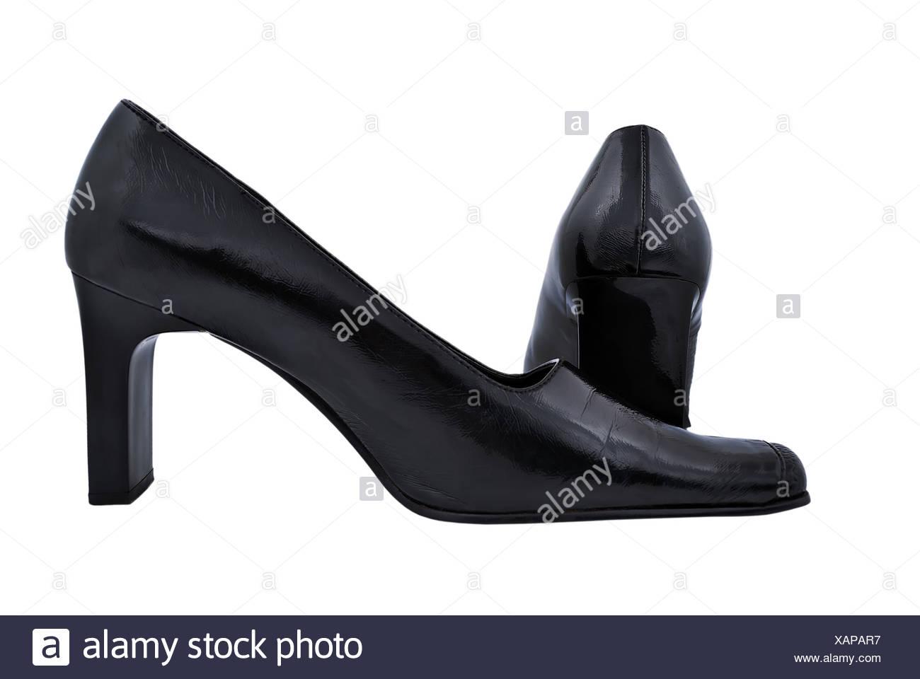 32b904c00128 schwarze Damenschuhe Stockfoto, Bild  282003883 - Alamy