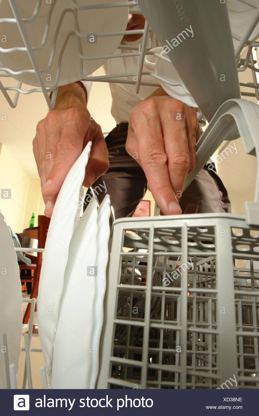 Neue Spulmaschine In Der Kuche Stockfoto Bild 283429146 Alamy