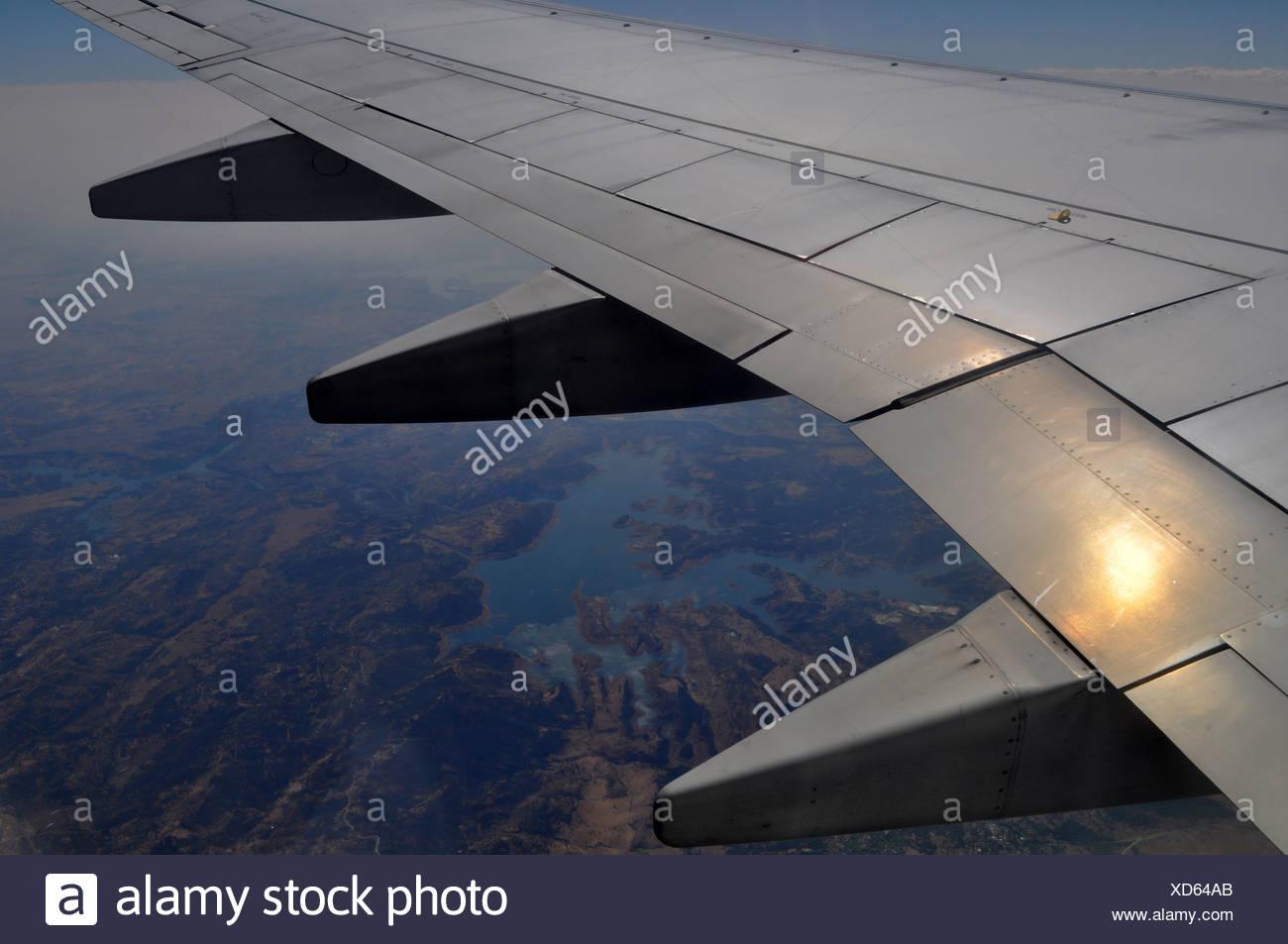 Usa Flug Fliegen Flug Zulassung Blick Blick Von Oben Topographie
