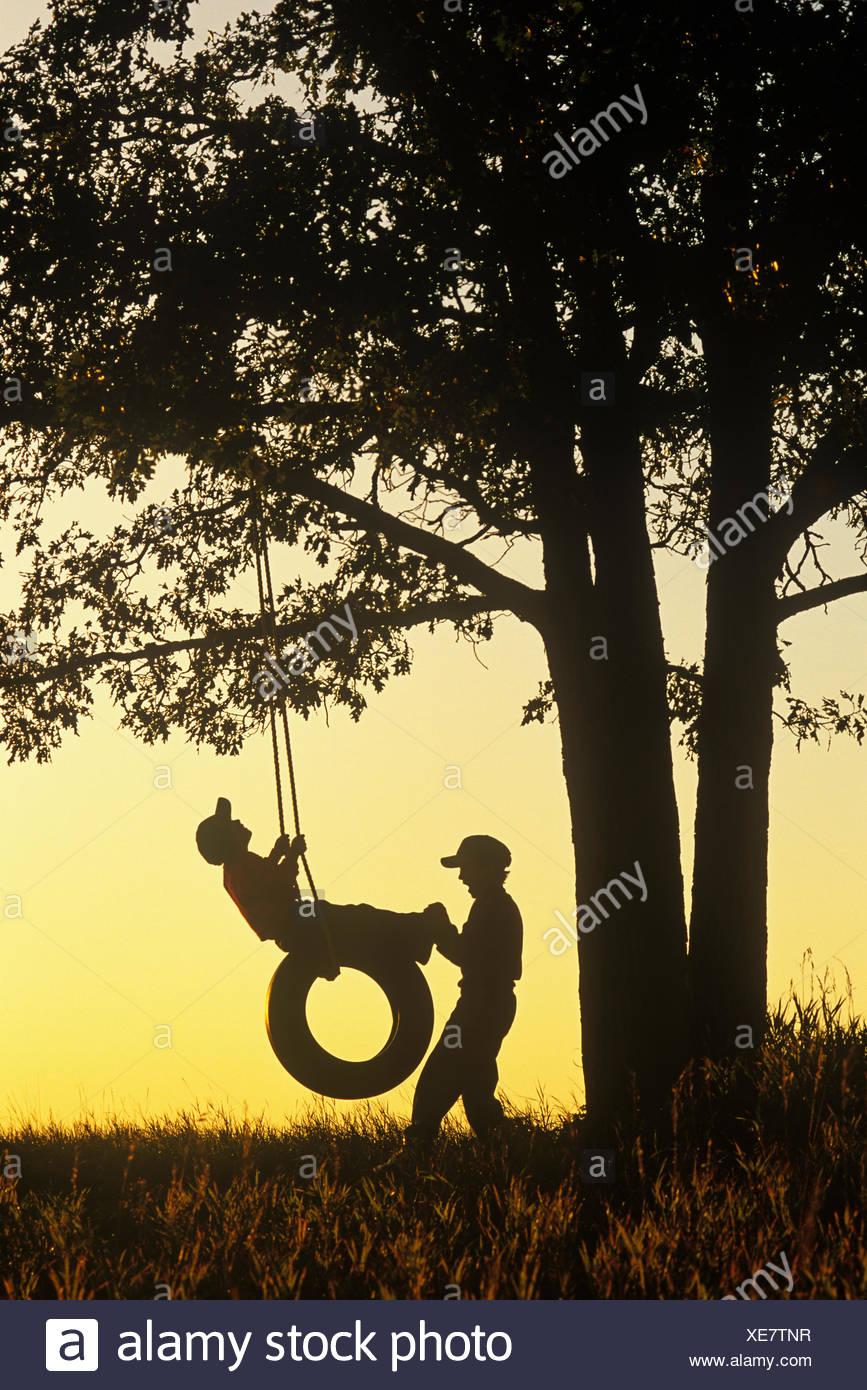 Swinging in manitoba