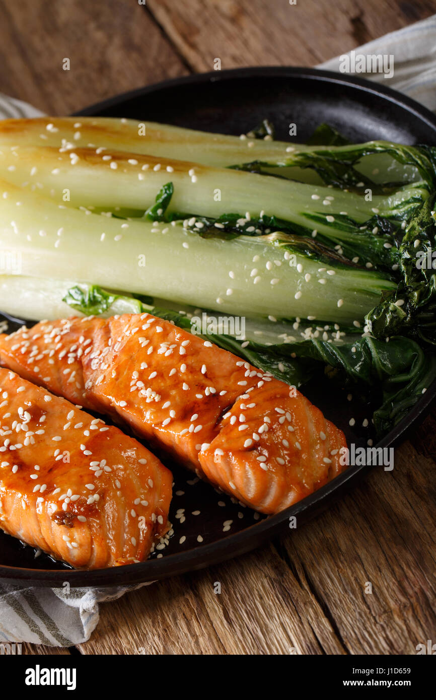 Salmon Fillet Asian Stock Photos & Salmon Fillet Asian ...