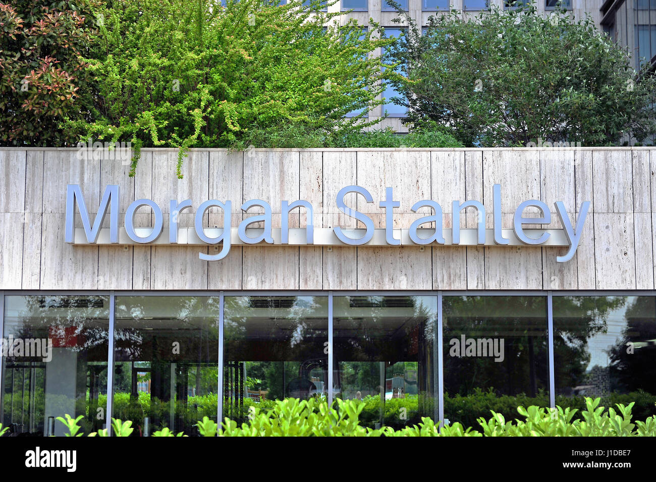 Morgan Stanley Building Stock Photos Amp Morgan Stanley