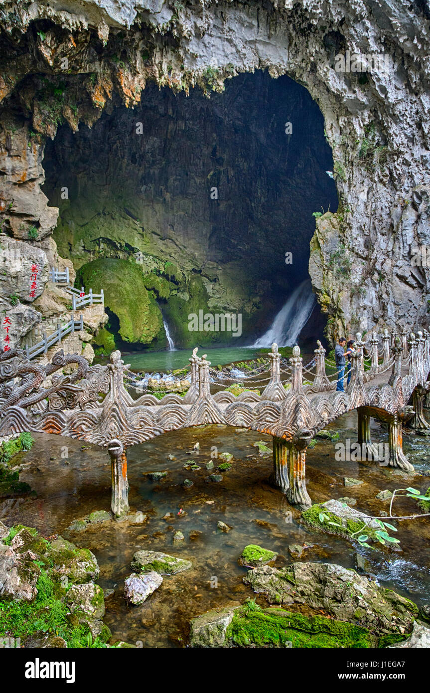 Limestone Karst Cave China Stock Photos & Limestone Karst ...