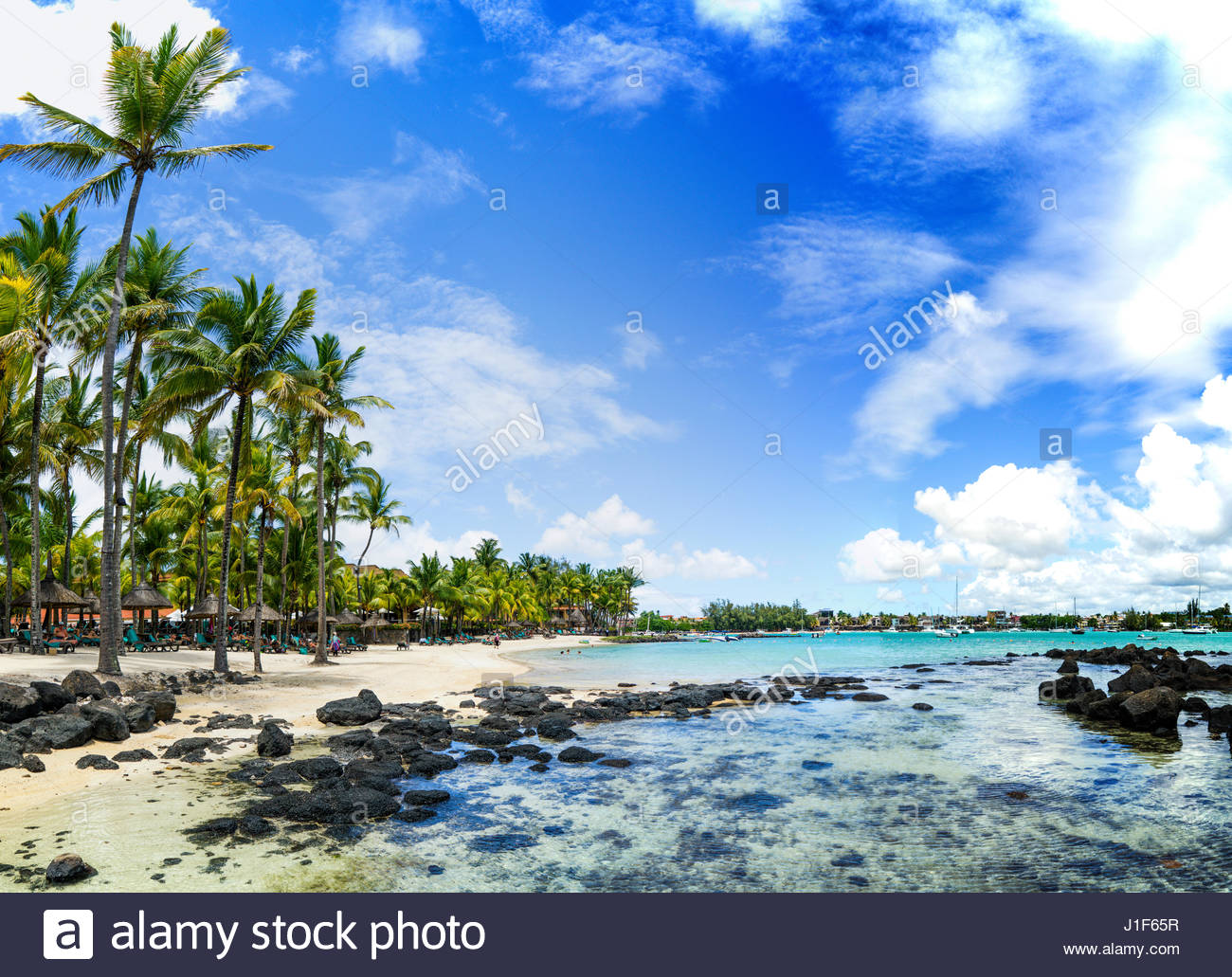 House With A Beautiful View Mauritius Island Stock Photos Amp Mauritius Island Stock