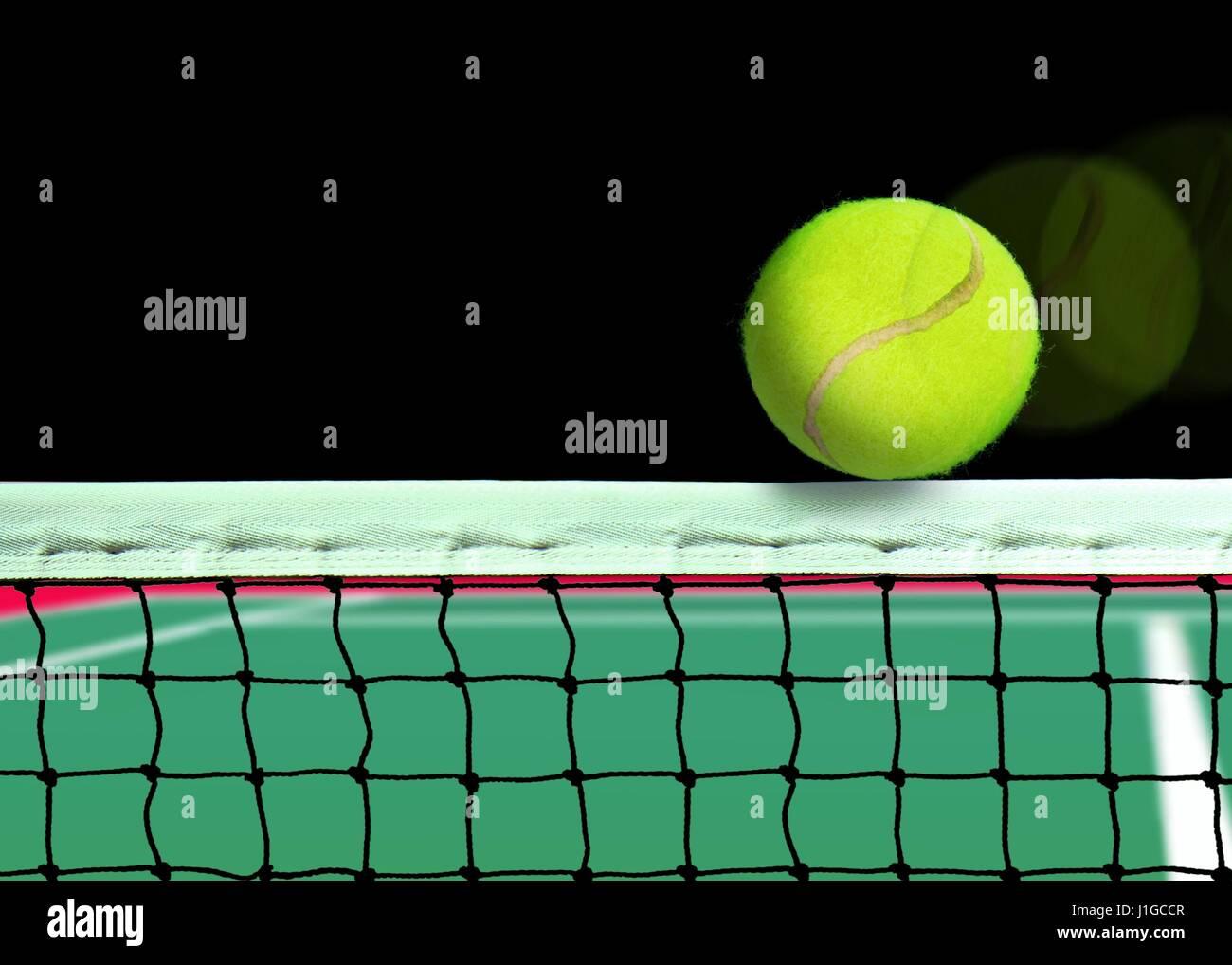 Tennis ball mascot stock photos tennis ball mascot stock photography - Tennis Ball On The Net Stock Image