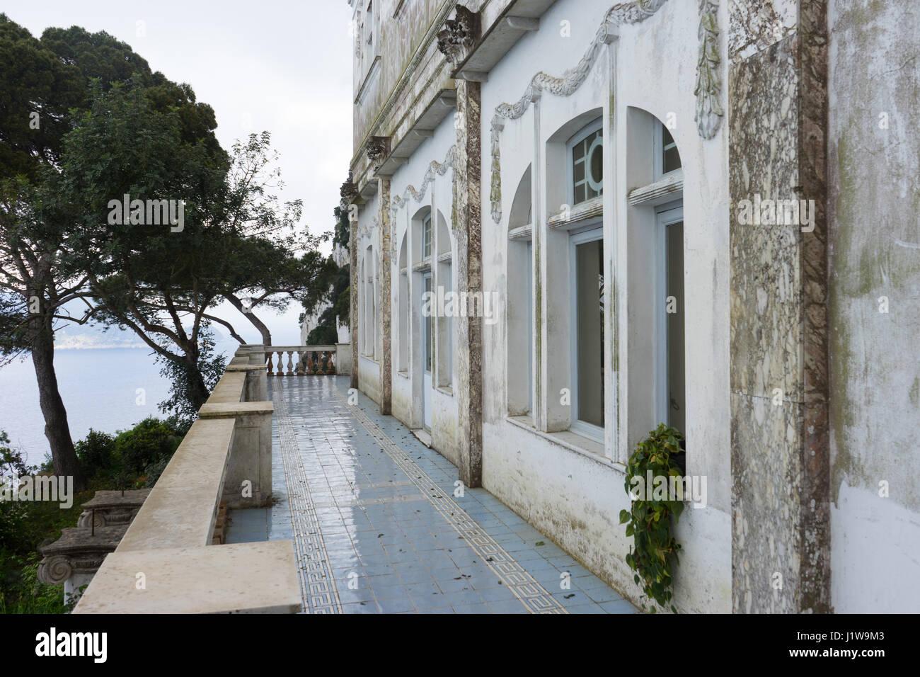 Villa jovis stock photos villa jovis stock images alamy for Capri villa