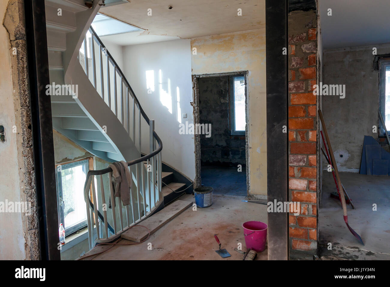 Renovation before and after stock photos renovation before and after stock images alamy - Renovating an apartment ...