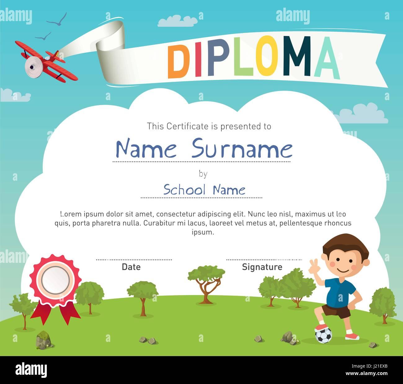 printable certificate for kids
