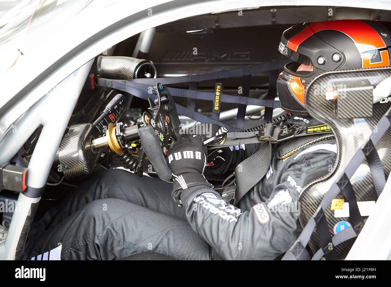 Cockpit Mercedes Amg Gt3 Stock Photos & Cockpit Mercedes Amg Gt3 ... | {Auto cockpit mercedes 97}