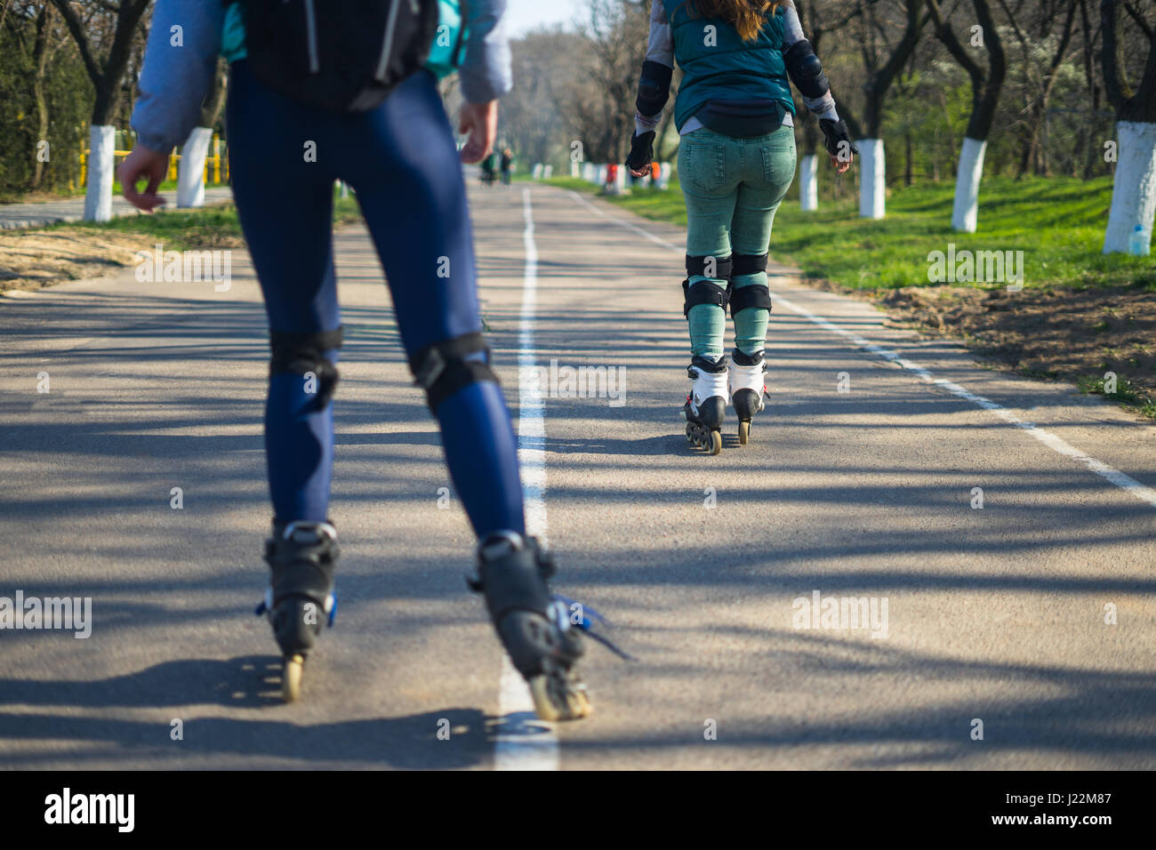 on roller blades stock photos u0026 on roller blades stock images alamy