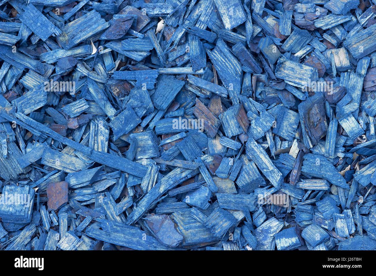 Decorative Wood Chips ~ Wood chip garden stock photos
