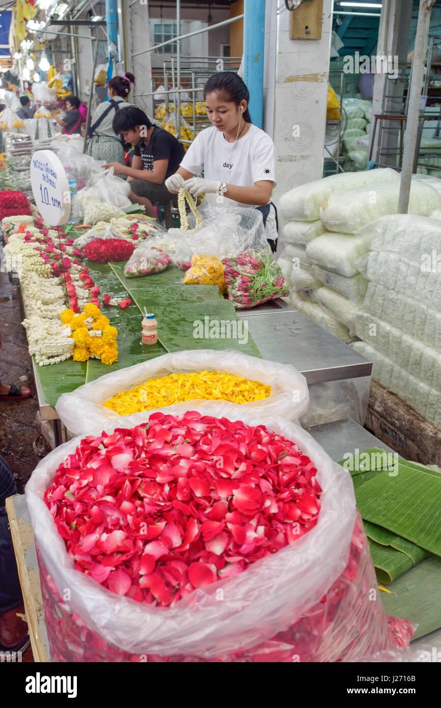 Talat Pak Khlong Bangkok Thailand Stock Photos & Talat Pak ...