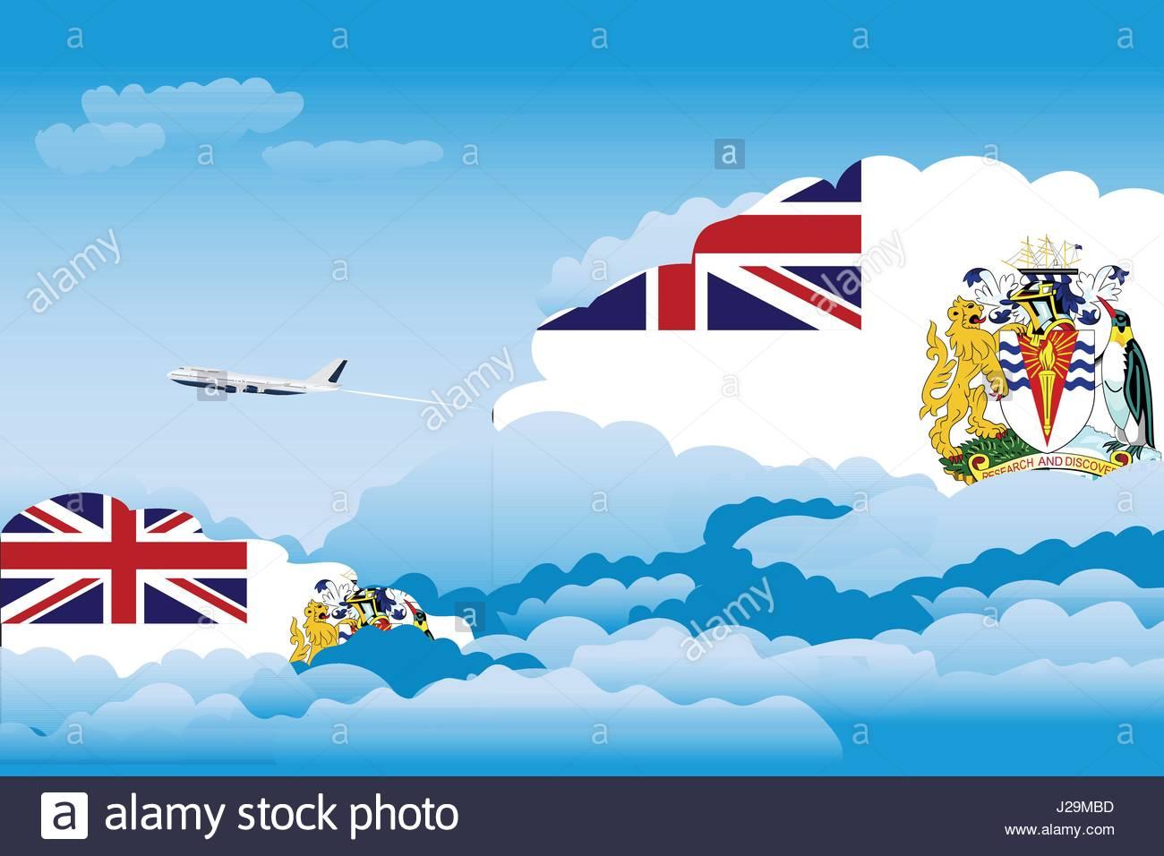 british antarctic territory flag stock photos u0026 british antarctic