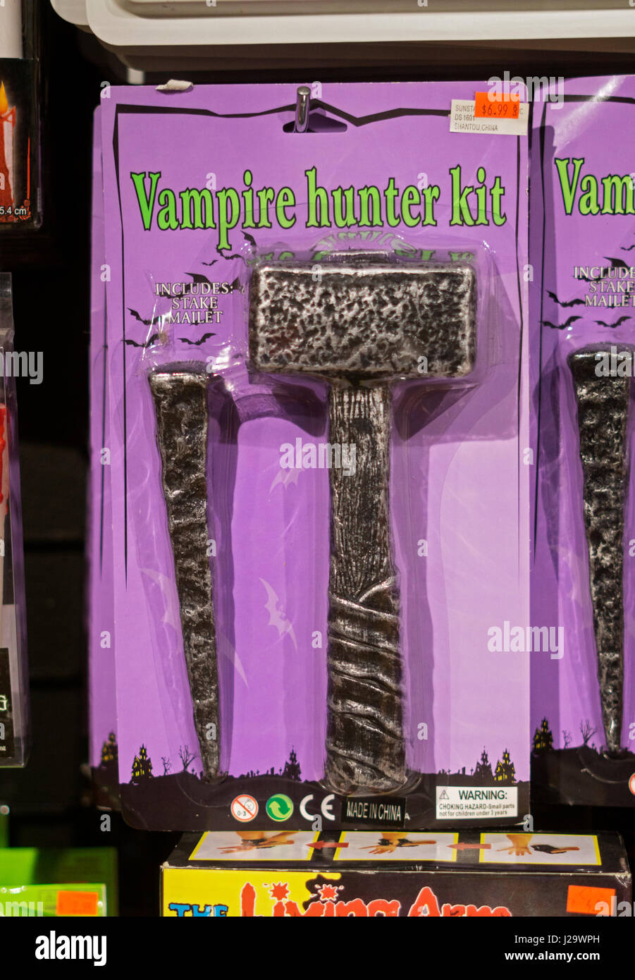 vampire hunter kit for sale at the halloween adventure in greenwich village manhattan new - Halloween Adventure New York