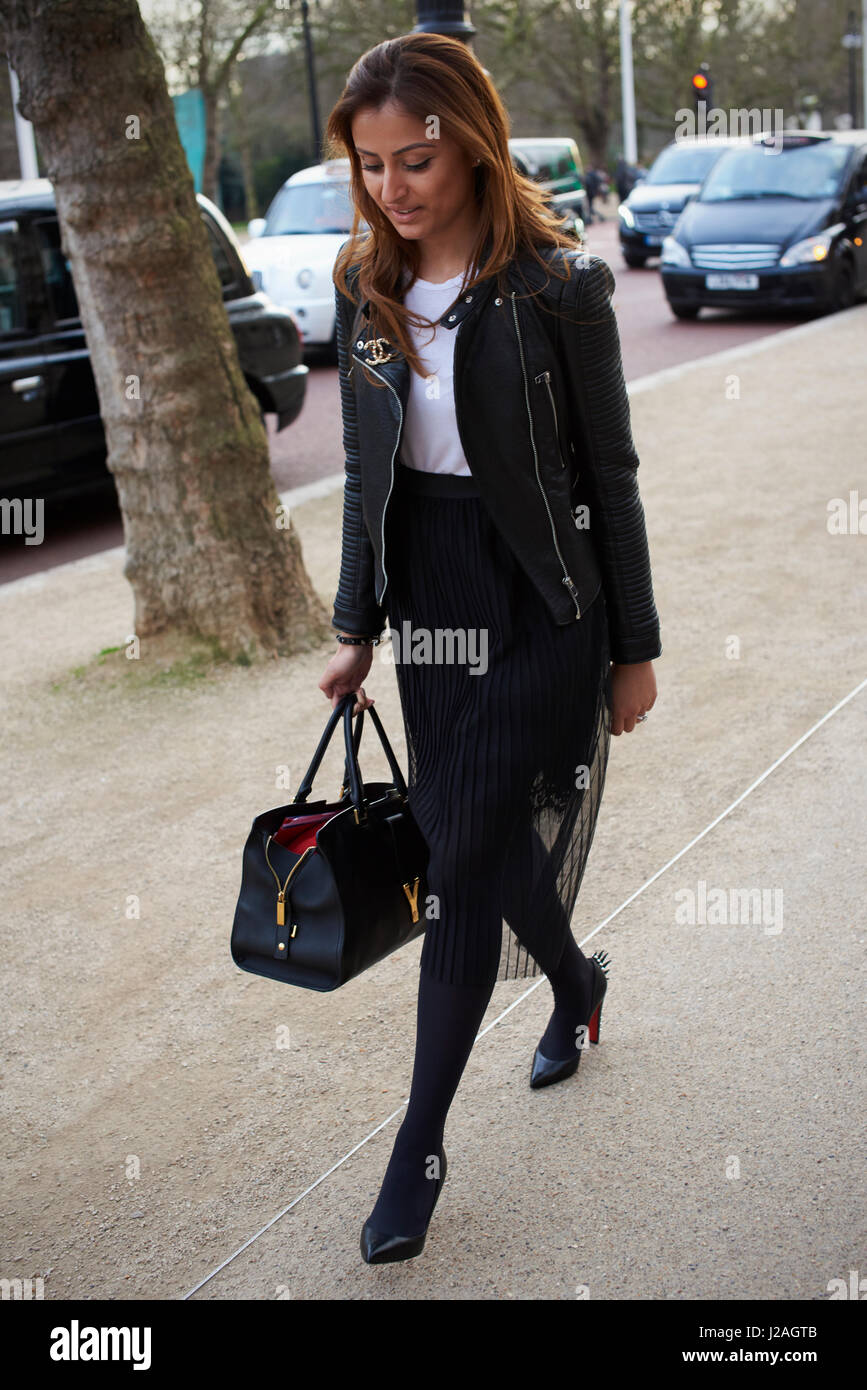 Full Length Leather Skirt Stock Photos & Full Length Leather Skirt ...