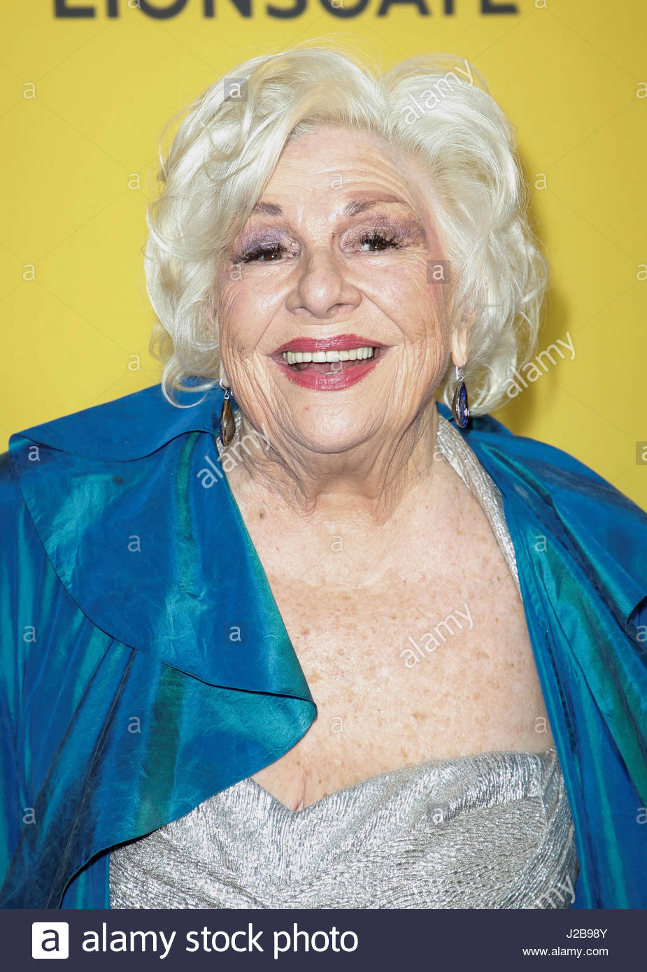 Actor Renee Taylor Poses At The Premiere Of How To Be A Latin Lover