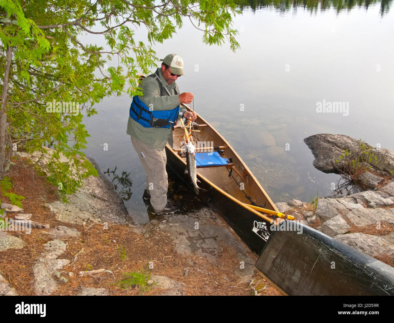 how to catch canadian lake trout