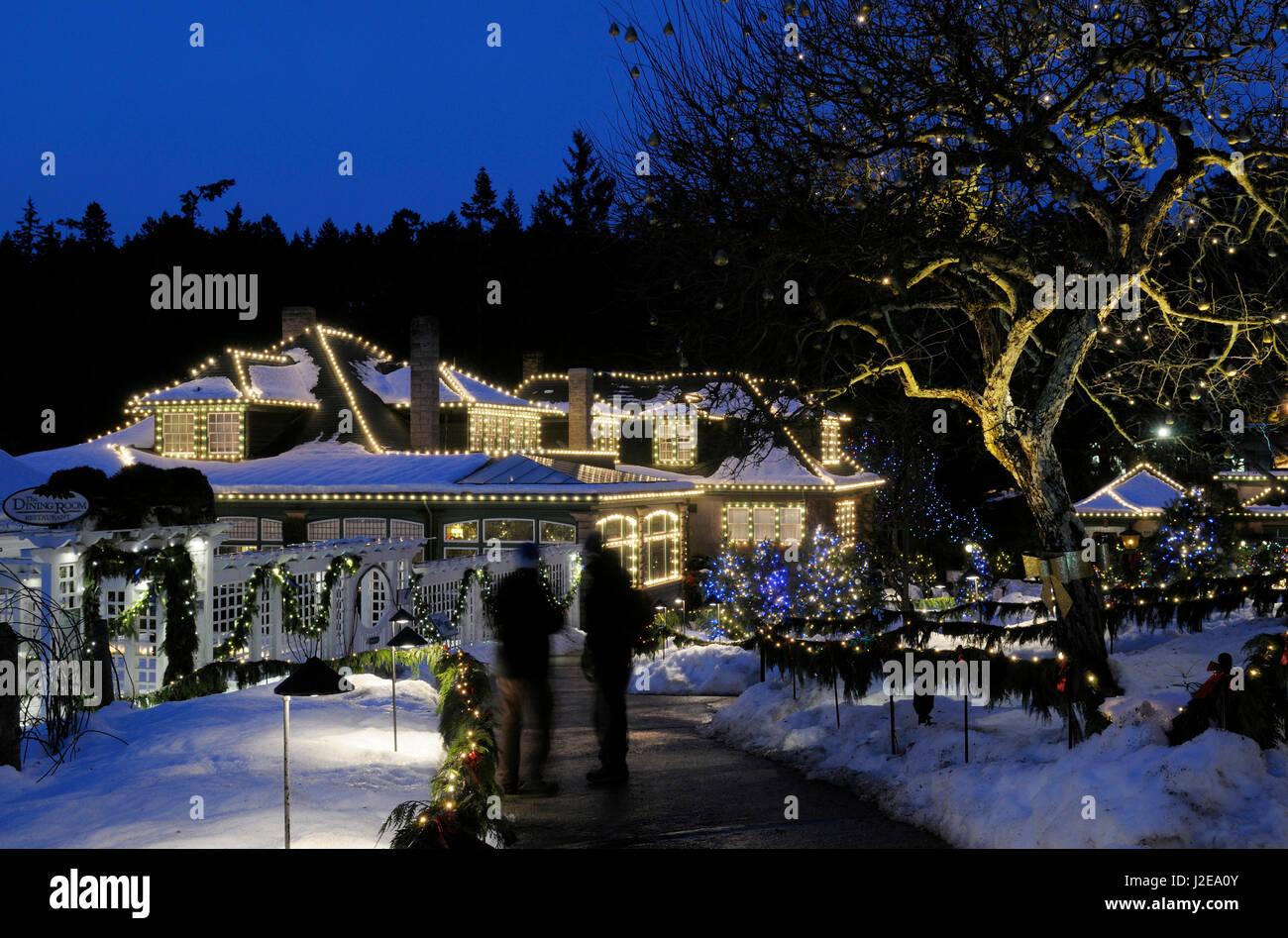 butchart gardens christmas stock photos u0026 butchart gardens