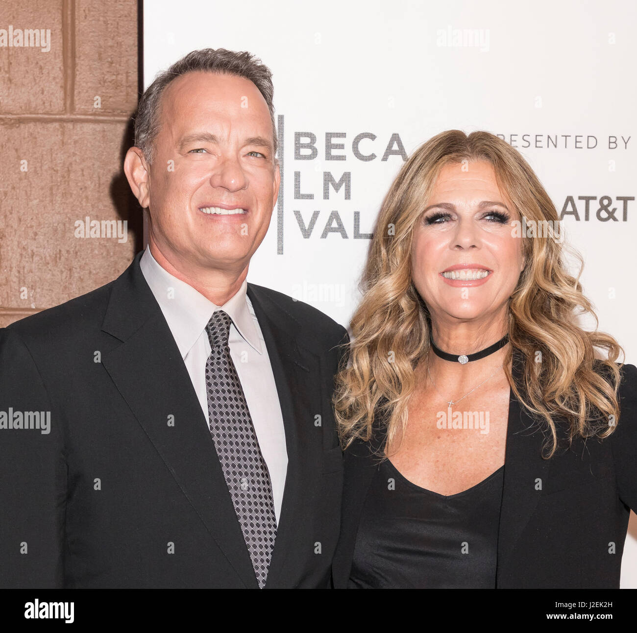 Tom Hanks And Rita Wilson Stock Photos & Tom Hanks And ...