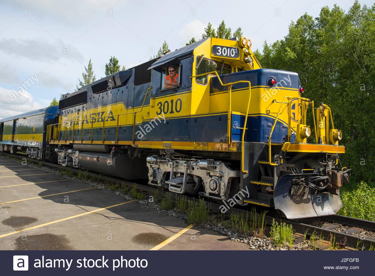 Alaska matanuska susitna county talkeetna - Alaska Railroad Hurricane Turn Diesel Electric Locomotive Talkeetna Matanuska Susitna Alaska