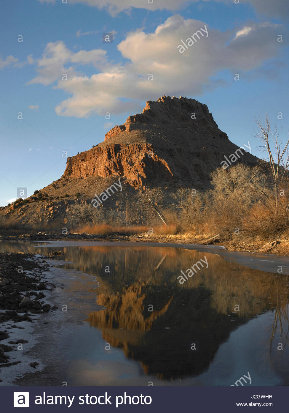 New mexico rio arriba county abiquiu - Rio Chama Near Abiquiu In Winter New Mexico Usa Stock Image
