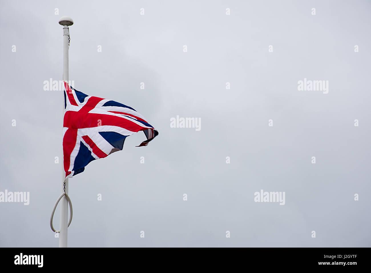 british flag pole stock photos u0026 british flag pole stock images
