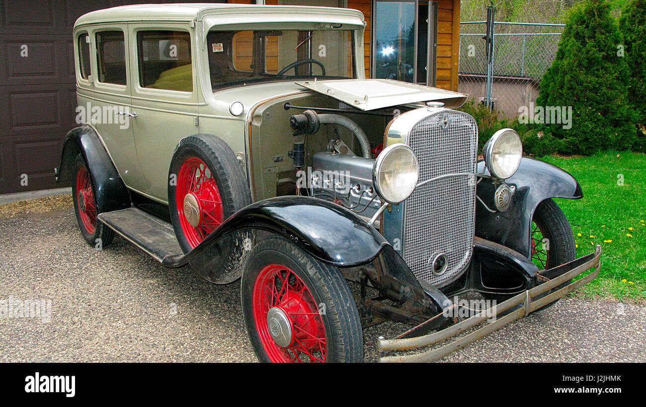 Usa 1930 stock photos usa 1930 stock images alamy for 1930 chevrolet 4 door sedan