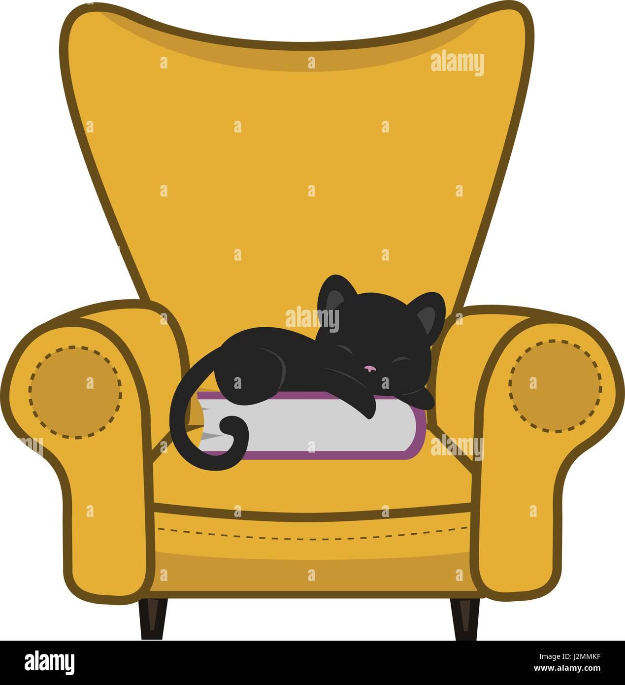 Cat Armchair Stock Photos Amp Cat Armchair Stock Images Alamy