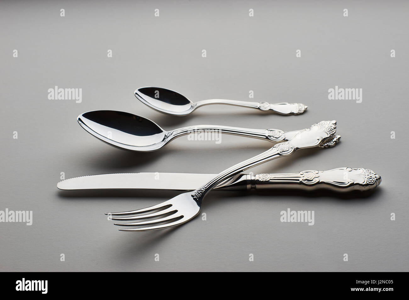 Knife Spoons Stock Photos Knife Spoons Stock Images Alamy