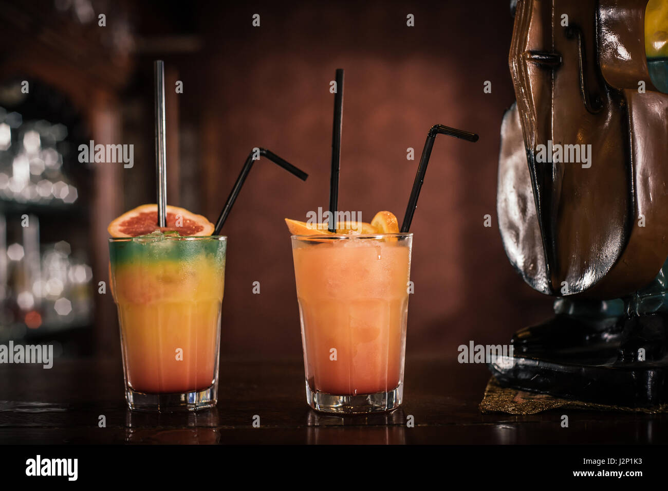 Exotic alcoholic drinks stock photos exotic alcoholic Good fruity drinks to get at a bar