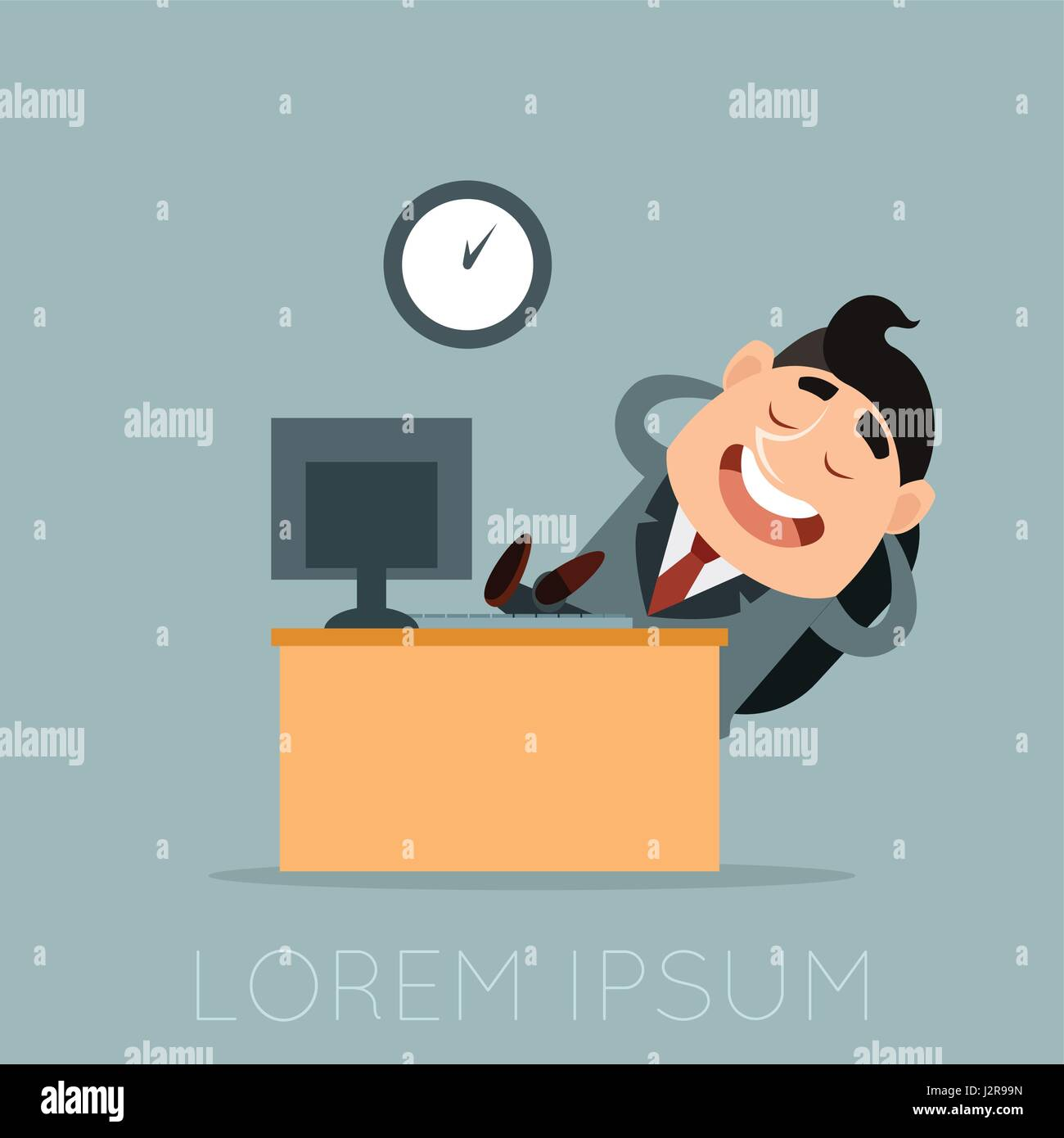 how to be lazy at work