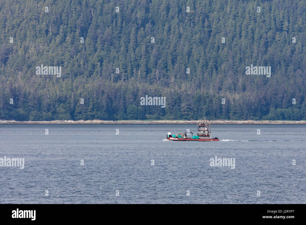 Ketchikan city harbor stock photos ketchikan city harbor for Juneau alaska fishing