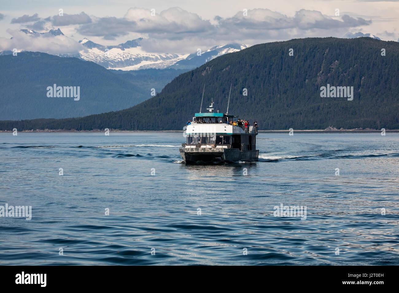 Ketchikan city harbor stock photos ketchikan city harbor for Alaska fishing boats
