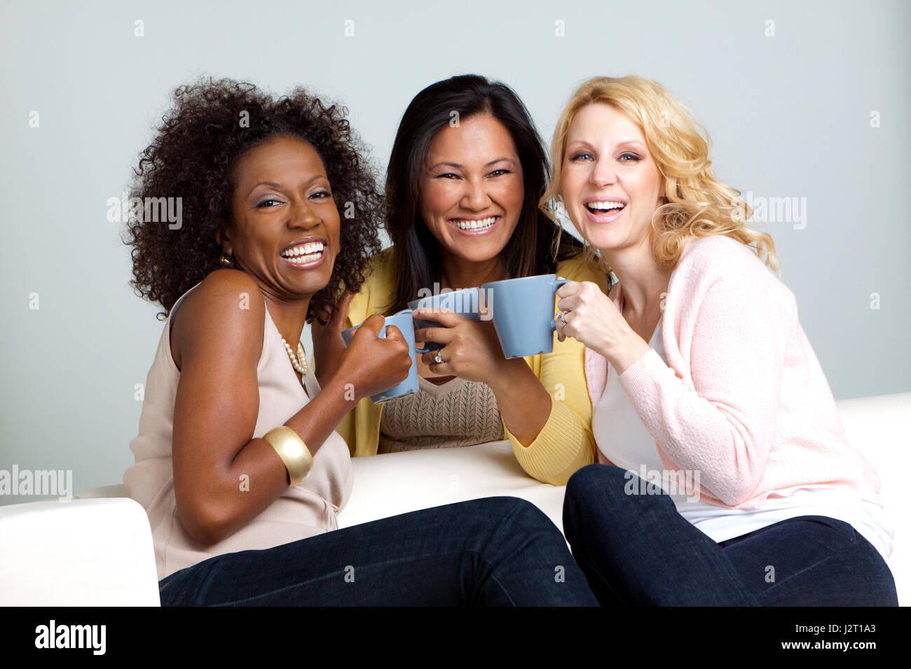 Group Of Women Talking 95
