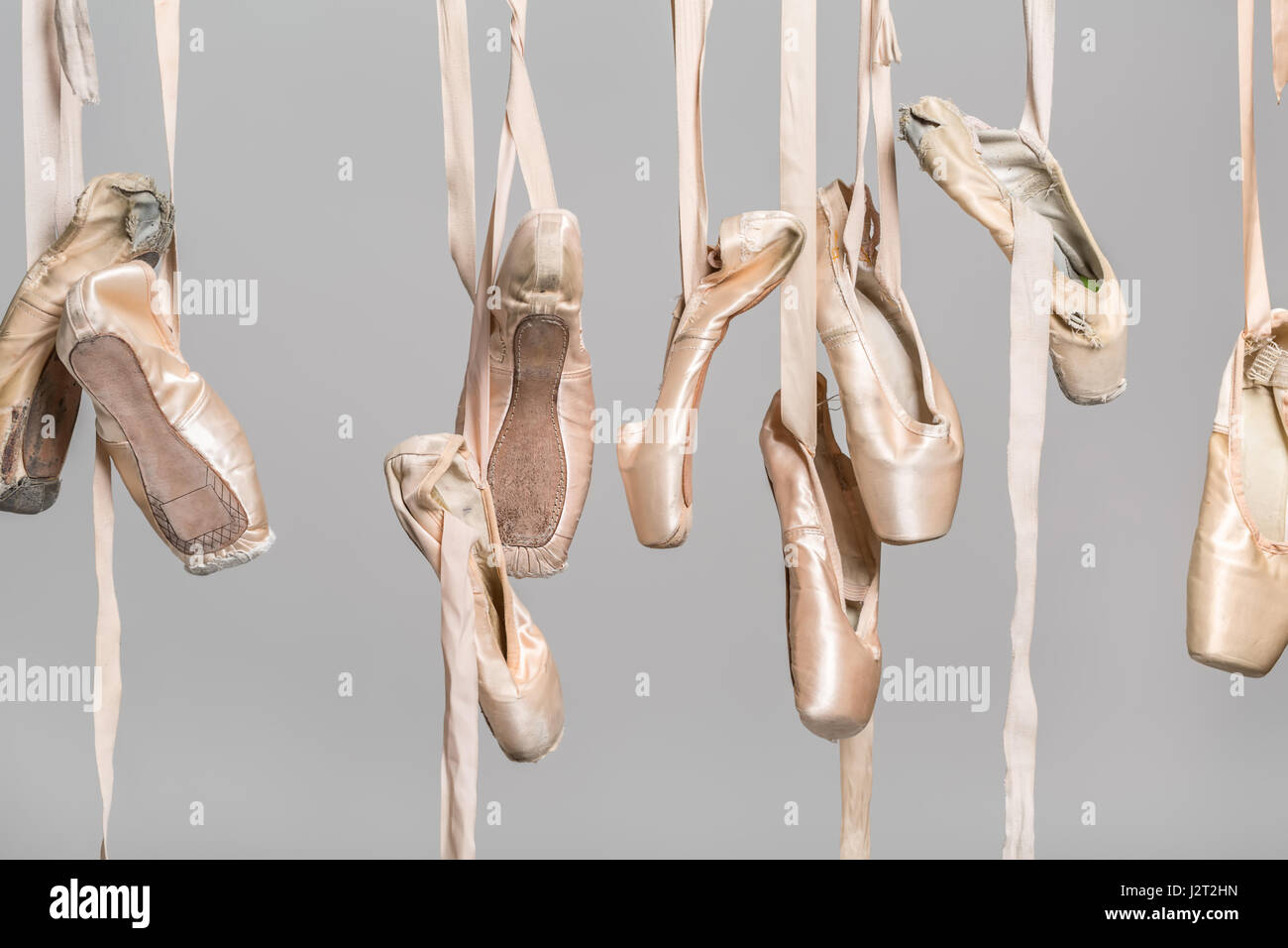 ballet shoes hanging stock photos amp ballet shoes hanging