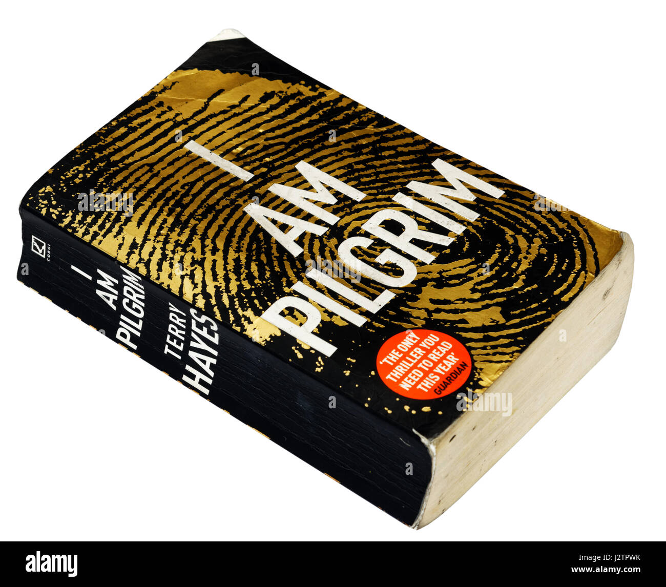 I Am Pilgrim By Terry Hayes  Stock Image