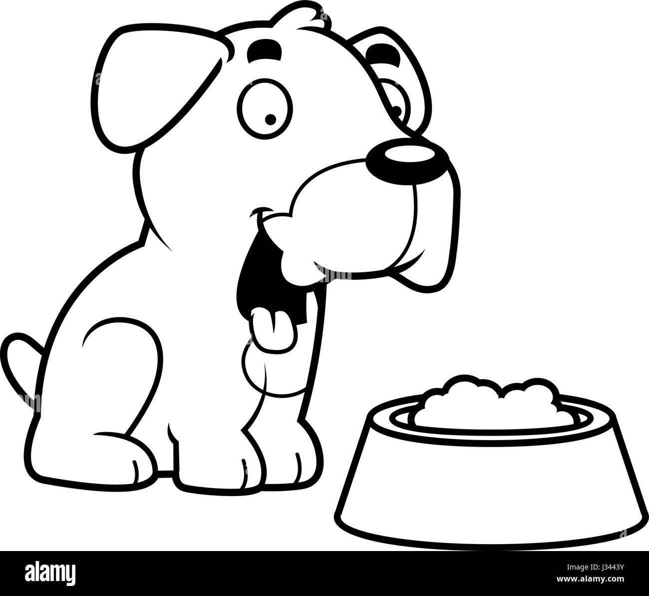 dog bowl black and white stock photos u0026 images alamy