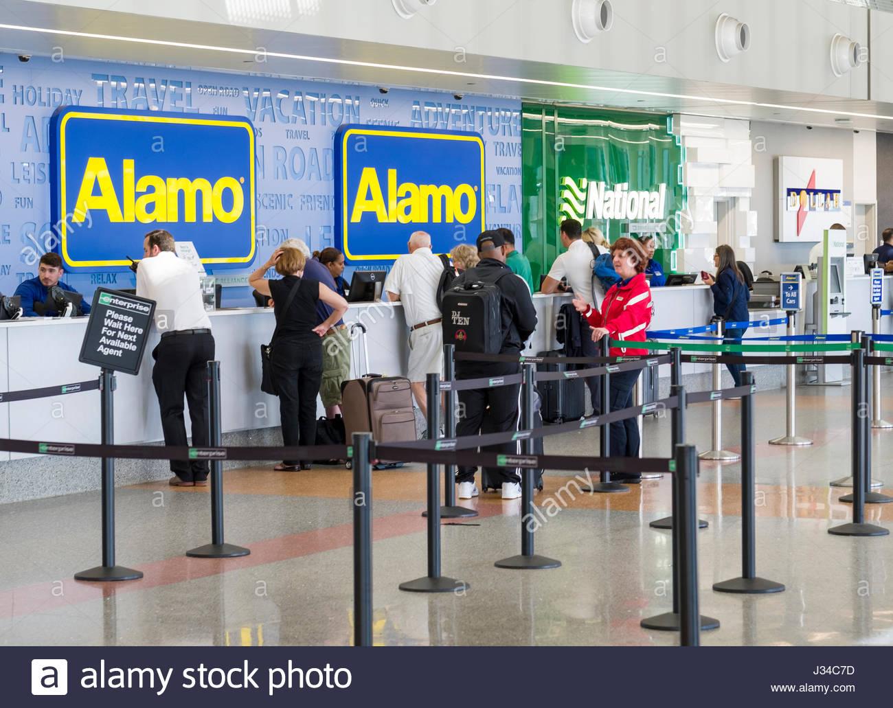 Alamo Car Rental Stock Photos Amp Alamo Car Rental Stock