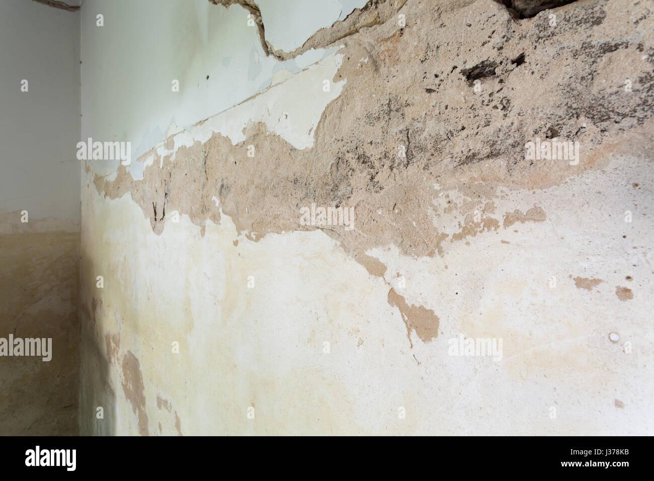 flaking plaster stock photos flaking plaster stock. Black Bedroom Furniture Sets. Home Design Ideas