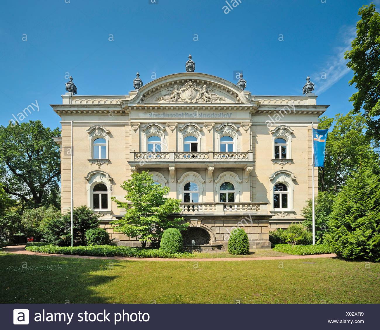 Villa Salzburg Dresden Wohndesign: Villa Dresden Saxony Stock Photos & Villa Dresden Saxony
