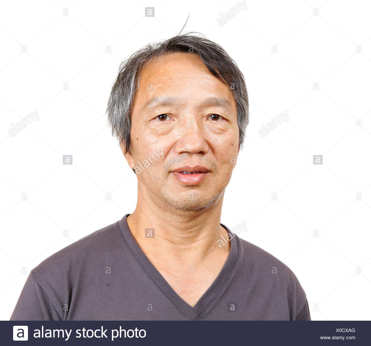 Asian Mature Man